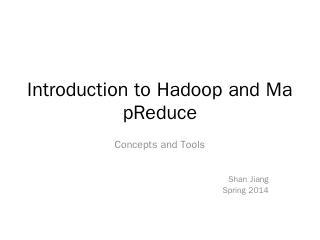 MapReduce/Hadoop