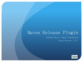 maven-javadoc-plugin</artifactId> - Sakai Con...