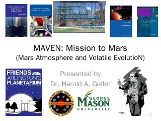 MAVEN: Mission to Mars