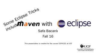 Maven - UCF CS