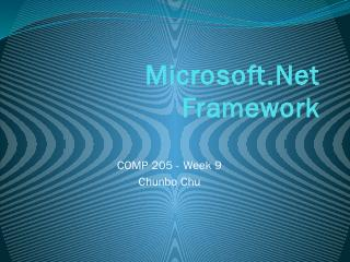 Microsoft.Net and C#