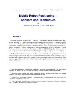 024-Mobile Robot Positioning:Sensors and Tech...