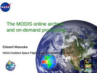 Moderate Resolution Data Center