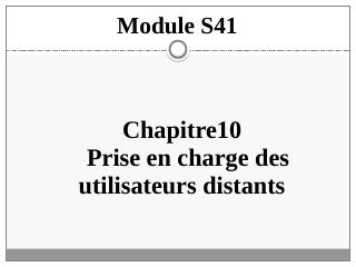 Module 8: Configuring...