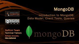 MongoDb - SoftUni