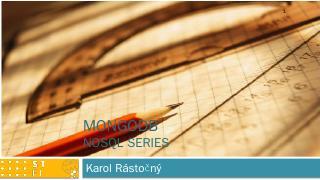 MongoDB NoSQL series ...