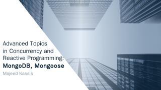 MongooseMongoDB