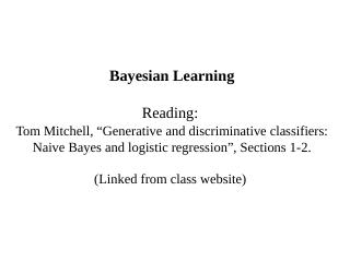 Naive Bayes Classifier - Creating Web Pages i...