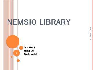 nemsio library