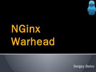 NGinx Warhead - ZeroNights