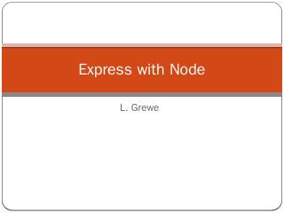 NodeJS coding basics