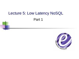 NoSQL - Computer Science & Engineering