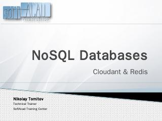 NoSQL Databases - 123Seminarsonly