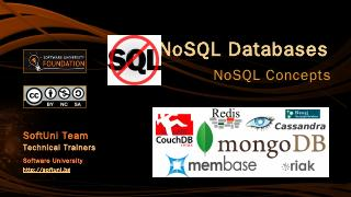 NoSQL Databases - SoftUni