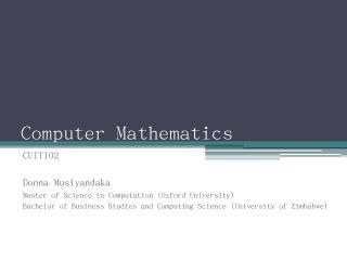 Notional Hours - Chinhoyi University of Techn...
