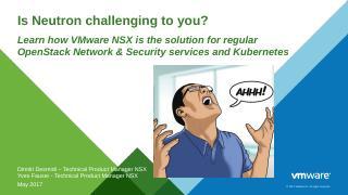 NSX for Neutron - OpenStack