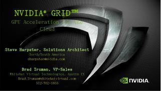 nvidia ® grid