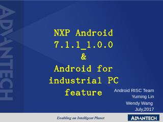 NXP Android 7.1.1