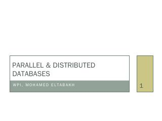 Object-oriented & object-relational databases