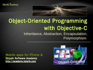 Object-Oriented Programming with Objective-C ...