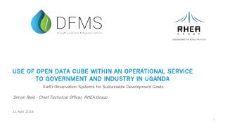 Open Data Cube in Uganda - CEOS