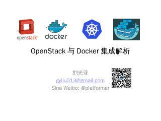 OpenStack Docker - Meetup