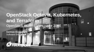 OpenStack Octavia, Kubernetes, and Terraform