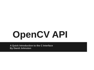 OpenCV Introduction.pptx