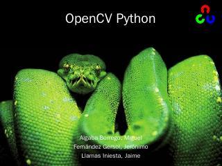 OpenCV Python - LCC
