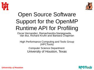 OpenMP Program