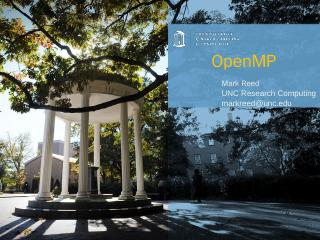 OpenMP - UNC ITS