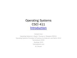 Operating Systems: Principles and Practice, I...