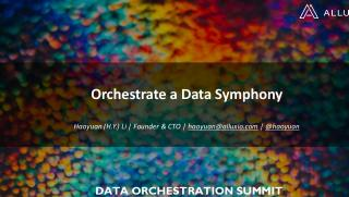 Orchestrate a data symphony