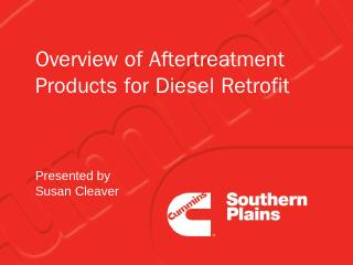 Overview of Aftertreatment Products for Diese...