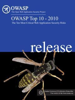 OWASP Top 10 – 2010 (新版)