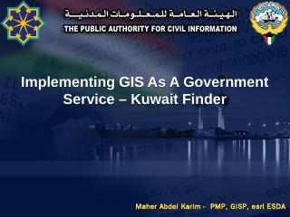 PACI Kuwait Finder - ITU