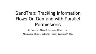 Parallel Memory Permissions and their Applica...