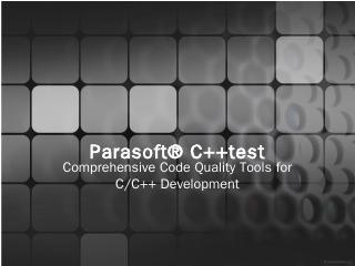 Parasoft® C++test - W...