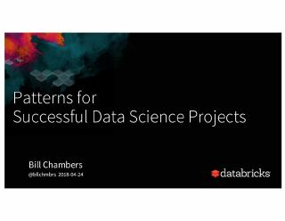 patterns for successful data science projects