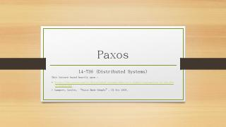 Paxos - Andrew.cmu.edu
