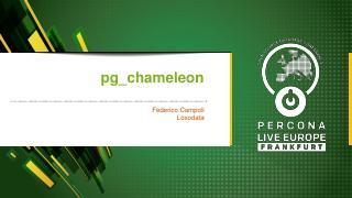 pg_chameleon