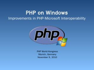 PHP on Windows_Final.pptx