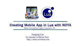 PowerPoint - Lua.org