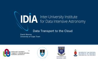 PowerPoint Presentation - IDIA