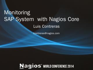 PowerPoint Presentation - Nagios Enterprises