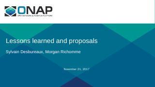 PowerPoint Presentation - ONAP Wiki