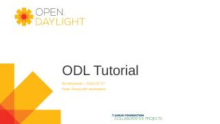 PowerPoint Presentation - OpenDaylight Wiki
