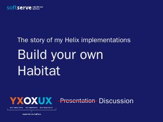 建立自己的habitat