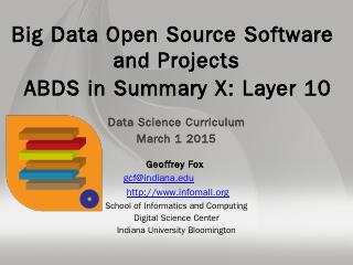 PPT - Big Data & Open Source Software Project...