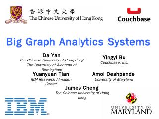 Big Graph Analytics Systems